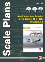No 62 P 51BC Scale Plans